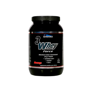 3 Whey Protein 900g Nutraforce