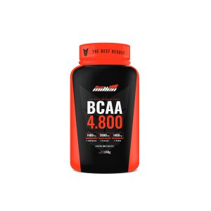 Bcaa 4.800mg 120 tabletes New Millen