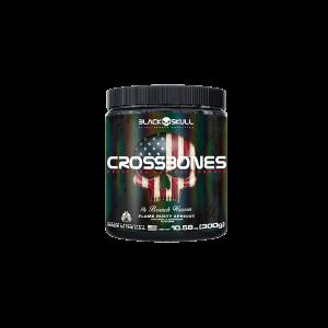 Crossbones 150g Black Skull