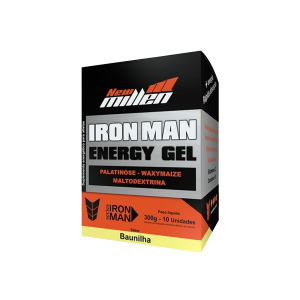 Iron Man Energy Gel 10 sachês New Millen