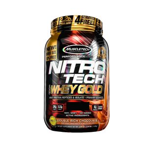 Nitro Tech 100% whey gold muscletech