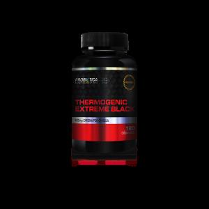 thermogenic extreme black 120 capsulas probiotica