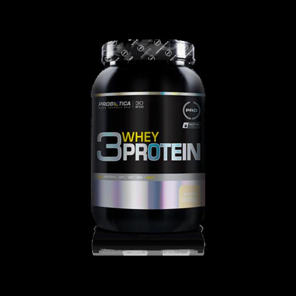 3 Whey Protein 900g Probiótica