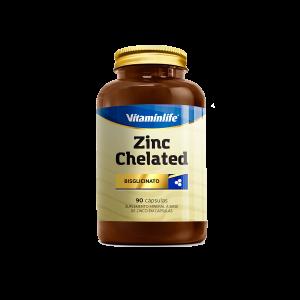 Zinco Quelato 90 cápsulas Vitaminlife