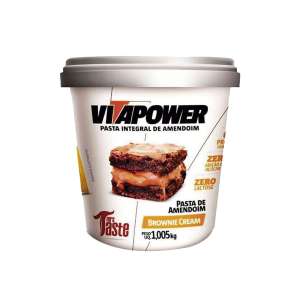 Pasta de amendoim brownie cream vitapower