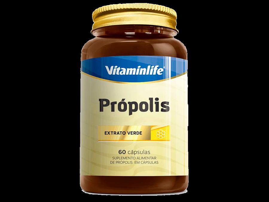 Própolis Extrato Verde 60 cápsulas – Vitaminlife