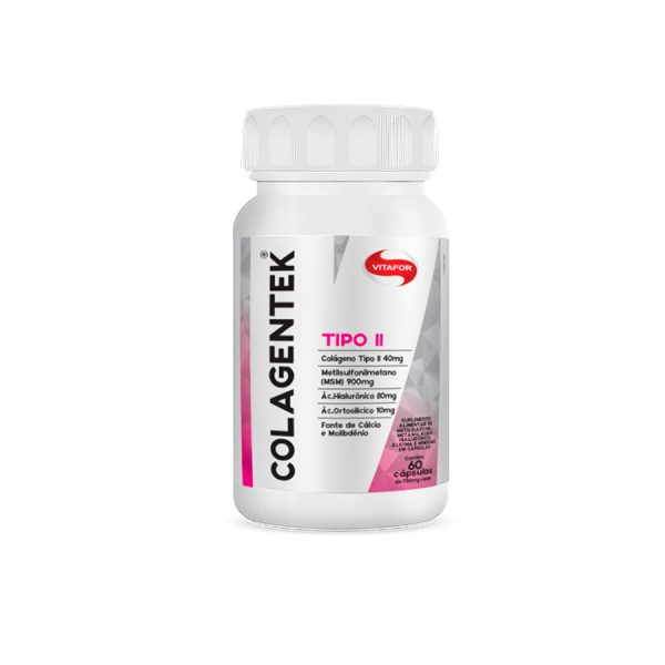 Colagentek Tipo II 60 cápsulas Vitafor