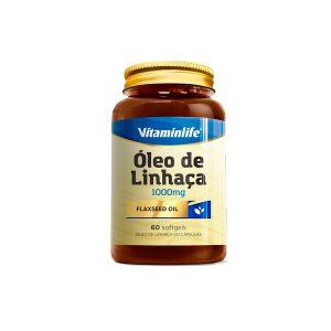 oleo de linhaça 60 capsulas vitaminlife