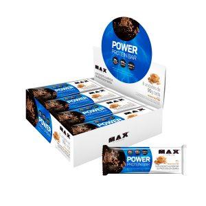 Power Protein Bar caixa com 8 unidades - Max Titanium